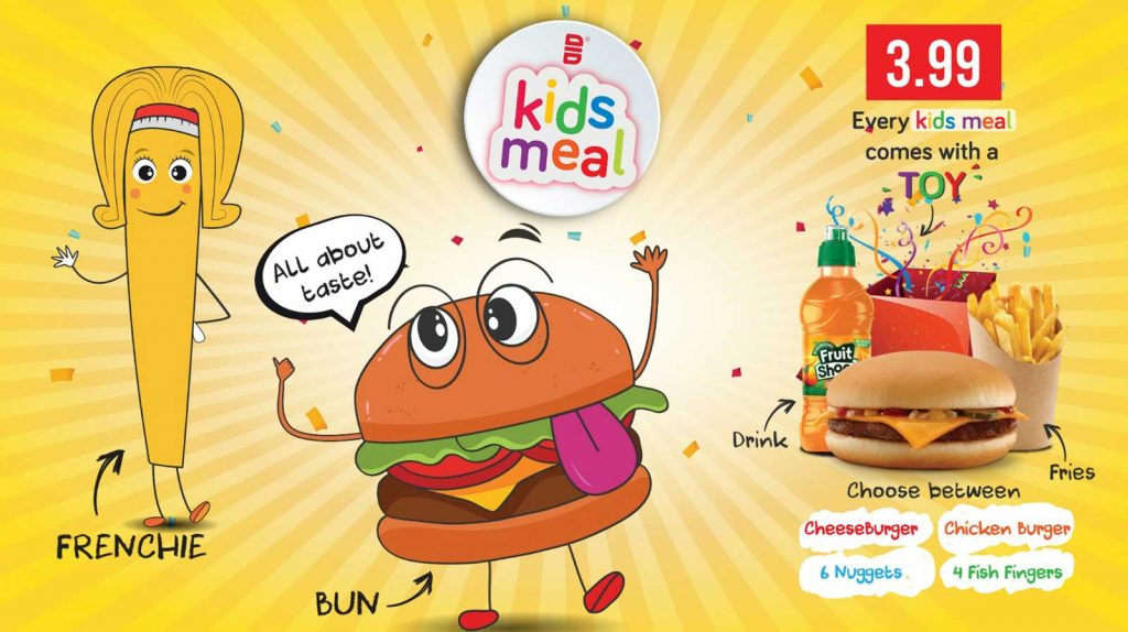Slamburger Walthamstow London Burgers Halal Restaurant Kids Meals