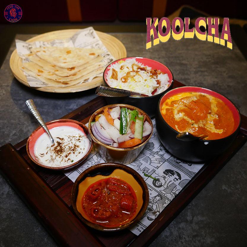 Koolcha (Indian) - Box Park Wembley, London - Feed the Lion