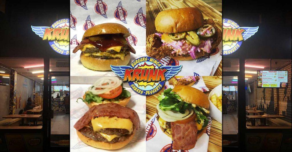 Krunk Burgers Croydon London Halal