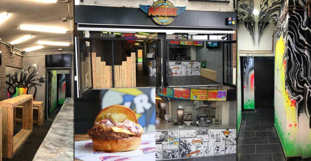 Krunk Croyden Burgers London