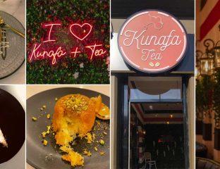 Kunafa Tea Cafe Halal Restaurant Bradford