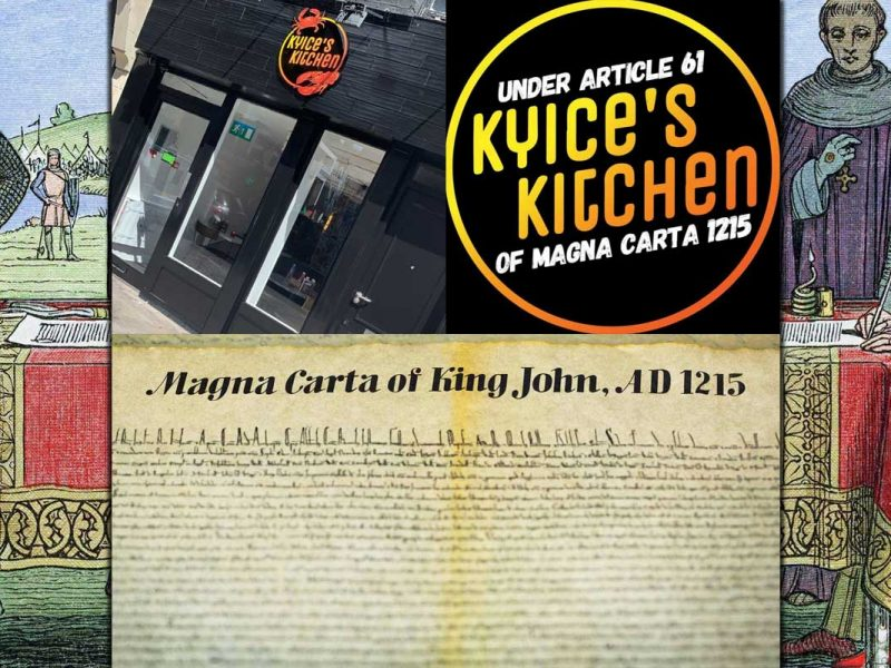 Kyice's Kitchen Brick Lane London Halal Carribean Magna Carta Lockdown 2.0