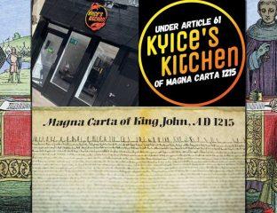 Kyice's Kitchen Brick Lane London Halal Carribean Magna Carta Lockdown 2.0