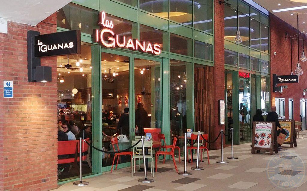 Las Iguanas London Halal HFA restaurant Wembley Outlet