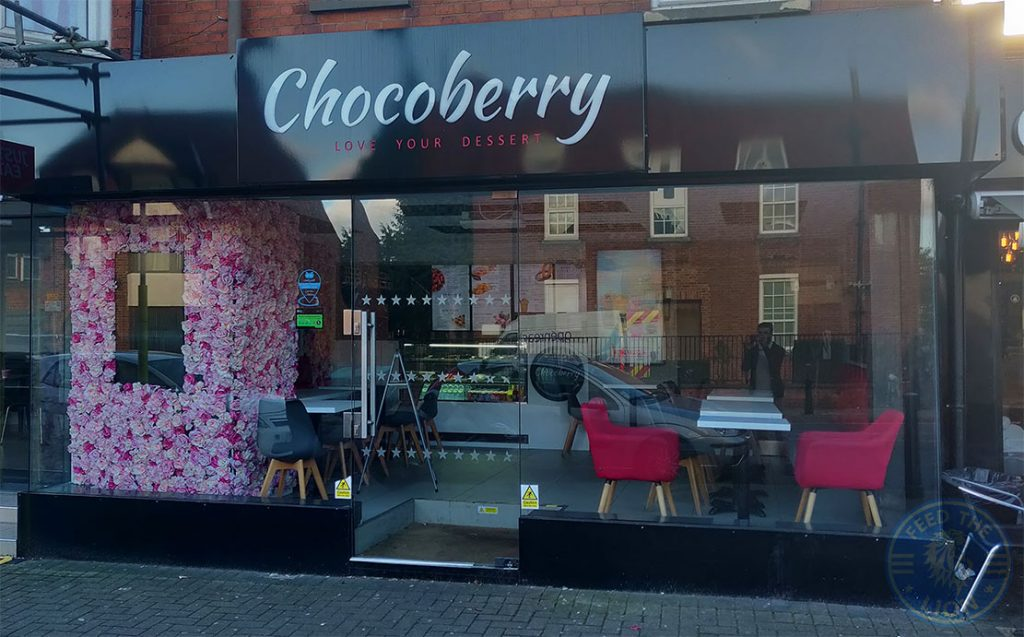 Chocoberry Desserts Halal food restaurant Evington Road Leicester LE2 1HL
