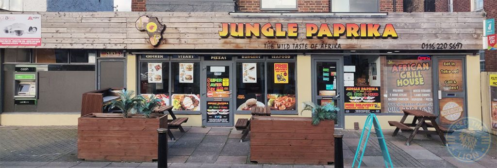 Jungle paprika Halal food restaurant Evington Road Leicester LE2 1HL