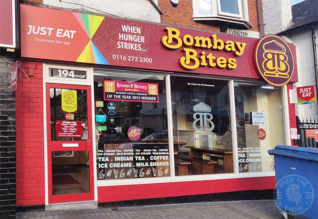 Bombay Bites Halal food restaurant Evington Road Leicester LE2 1HL