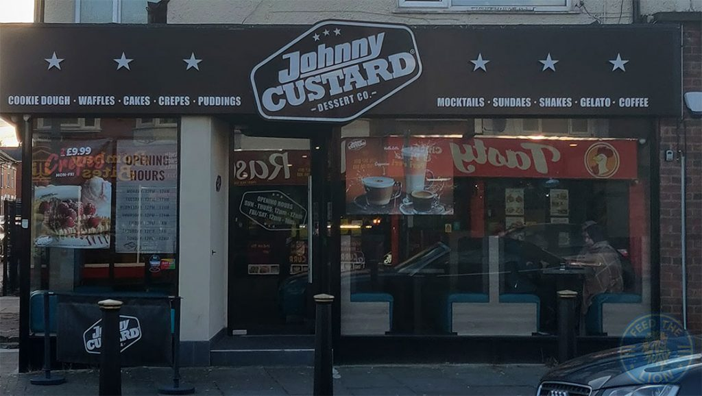 Johnny Custard Desserts Halal food restaurant Evington Road Leicester LE2 1HL
