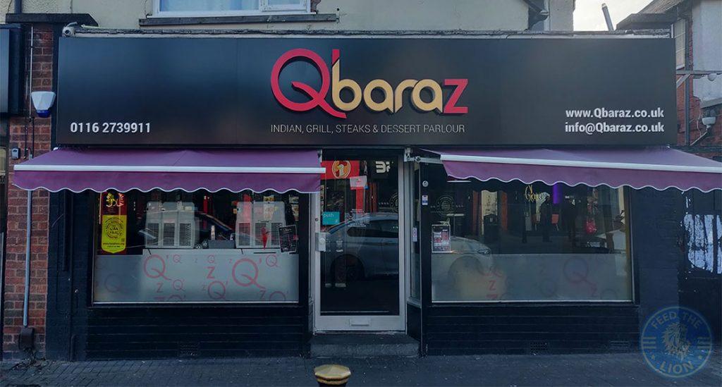 Qbaraz Halal food restaurant Evington Road Leicester LE2 1HL
