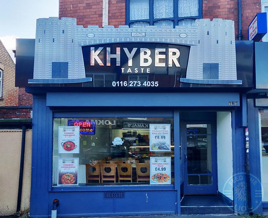 Khyber Taste Halal food restaurant Evington Road Leicester LE2 1HL