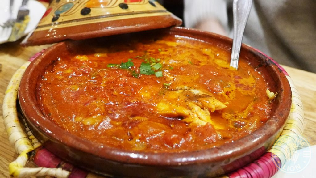 Fish Sea Bass Tagine Leila Moroccan Lebanese Halal Ealing Common Restaurant