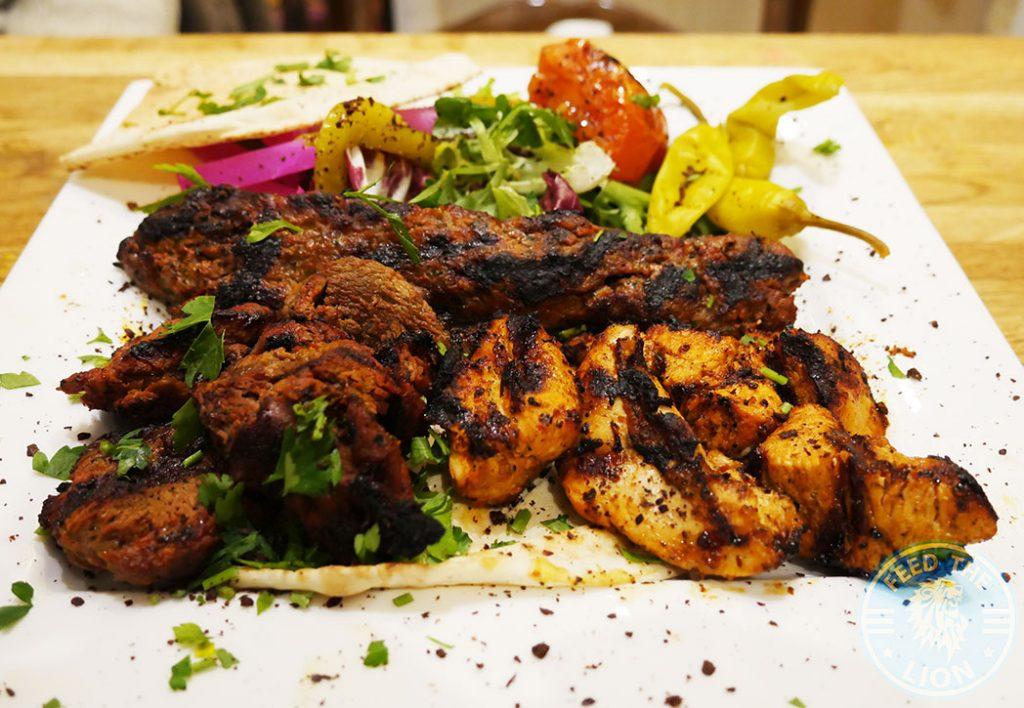 Chicken Lamb Leila Moroccan Lebanese Halal Ealing Common Restaurant