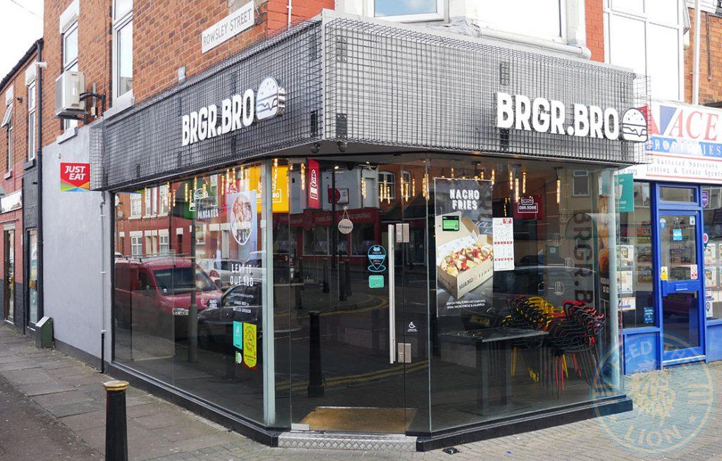 BRGR.Bro burger Halal food restaurant Evington Road Leicester LE2 1HL
