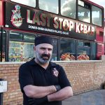 Firat Amara owner of Last Stop Kebab Bus fast food restaurant Halal Turkish Edmonton