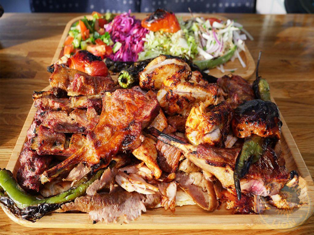 Last Stop special Last Stop Kebab Bus fast food restaurant Halal Turkish Edmonton