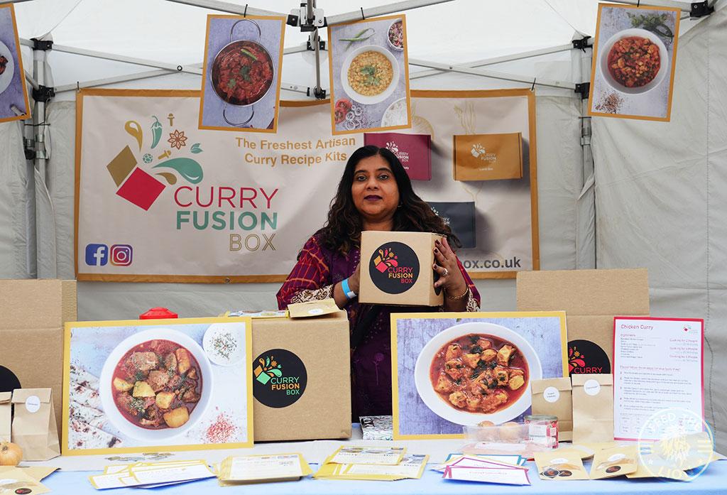 Curry Fusion Box London Halal Food Festival 2021 - London Stadium