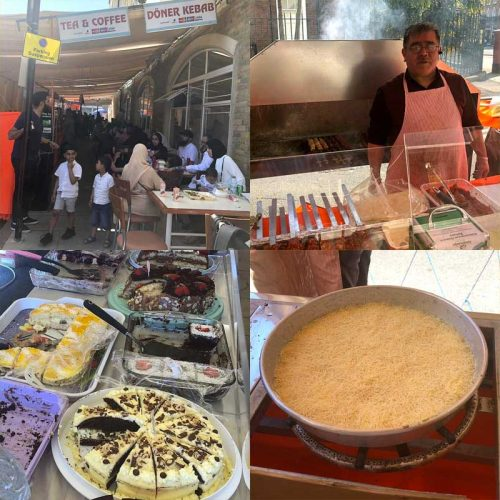 Laburnum Street Food Fair Turkish Halal Suleymaniye Mosque