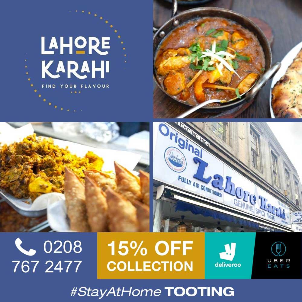 Lahore Karahi Tooting London Delivery Takeaway