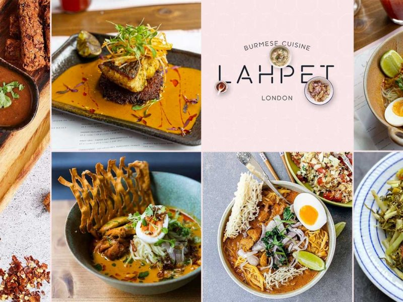 Lahpet Burmese Restaurant London Covent Garden The Yard
