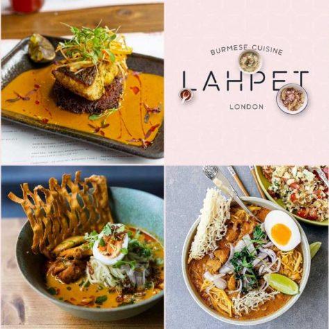 Lahpet Burmese Restaurant London Covent Garden The Yard