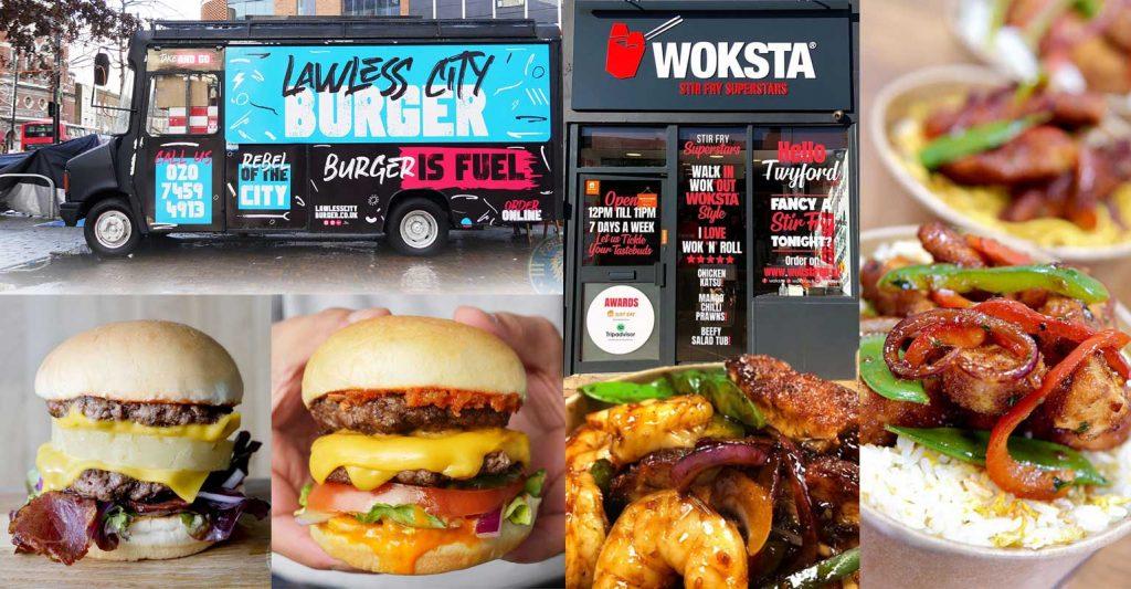 Lawless City Burger Woksta Kentish Town Corringham