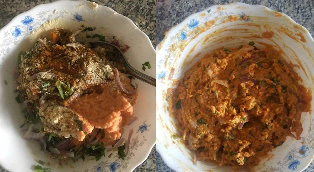 Umm Saffiya's Kitchen Bangaldesh Bengali Recipe Fritters Vegetable Cooking Cook