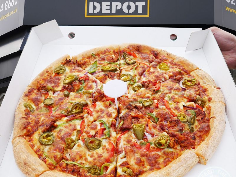 London Pizza Depot Halal restaurant Ilford