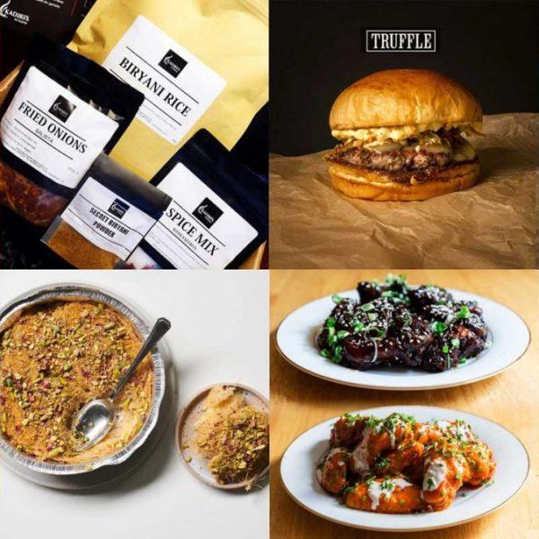 London Lockdown DIY Meal Kits Delivered