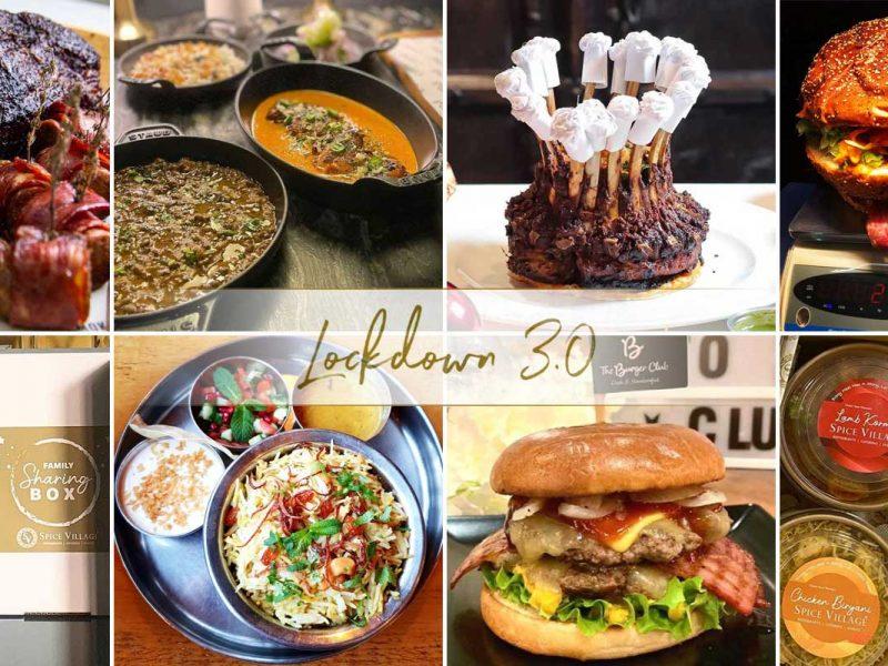 Lockdown Halal Restaurant Menu Orders