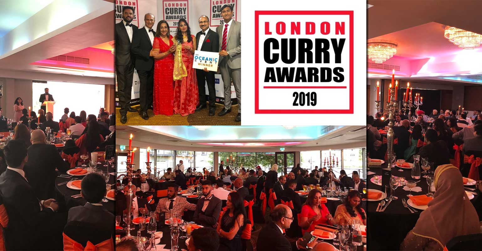 And The Winners Of The London Curry Awards 2019 Are