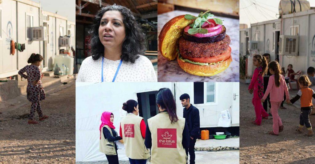 The Lotus Flower charity Asma Khan Darjeeling Express burger Hache Burgers Isis