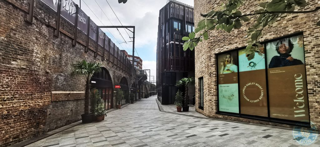 Hawley Wharf Camden Lock Halal Restaurant Takeaway London
