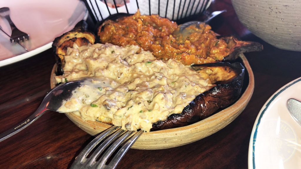 Masti Halal Indian restaurant Dubai Eggplant