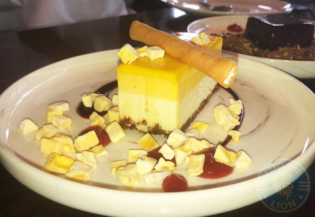 Masti Halal Indian restaurant Dubai Dessert cheesecake
