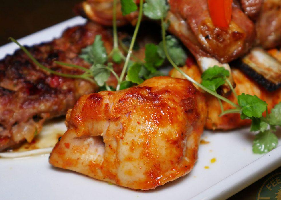 <strong>Mixed Pit</strong> – Lamb, chicken, Adana, ribs, lamb chop, £28.00