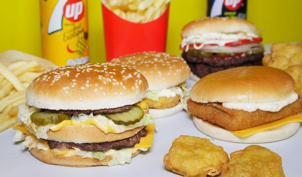 Mega Burger HMC Halal Restaurant McDonald's Burger King Walthamstow London