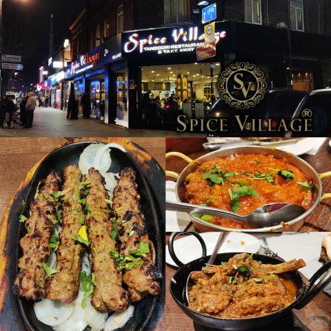 Spice Village Halal Southall restaurant