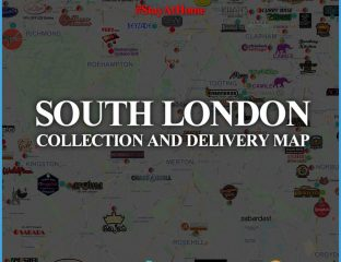 South London Halal London Delivery Takeaway Map