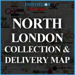 North London Halal London Delivery Takeaway Map