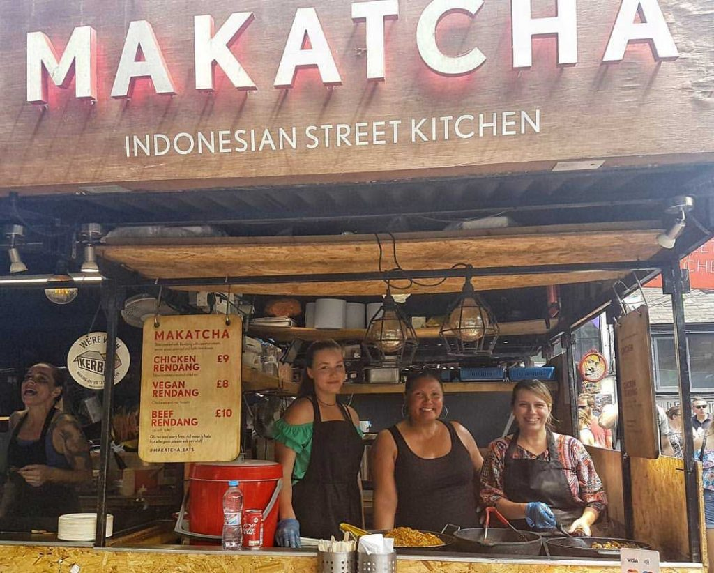 Makatcha Kerb West India Quay Street Food London