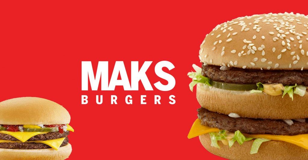Maks Burgers London McDonald's Halal