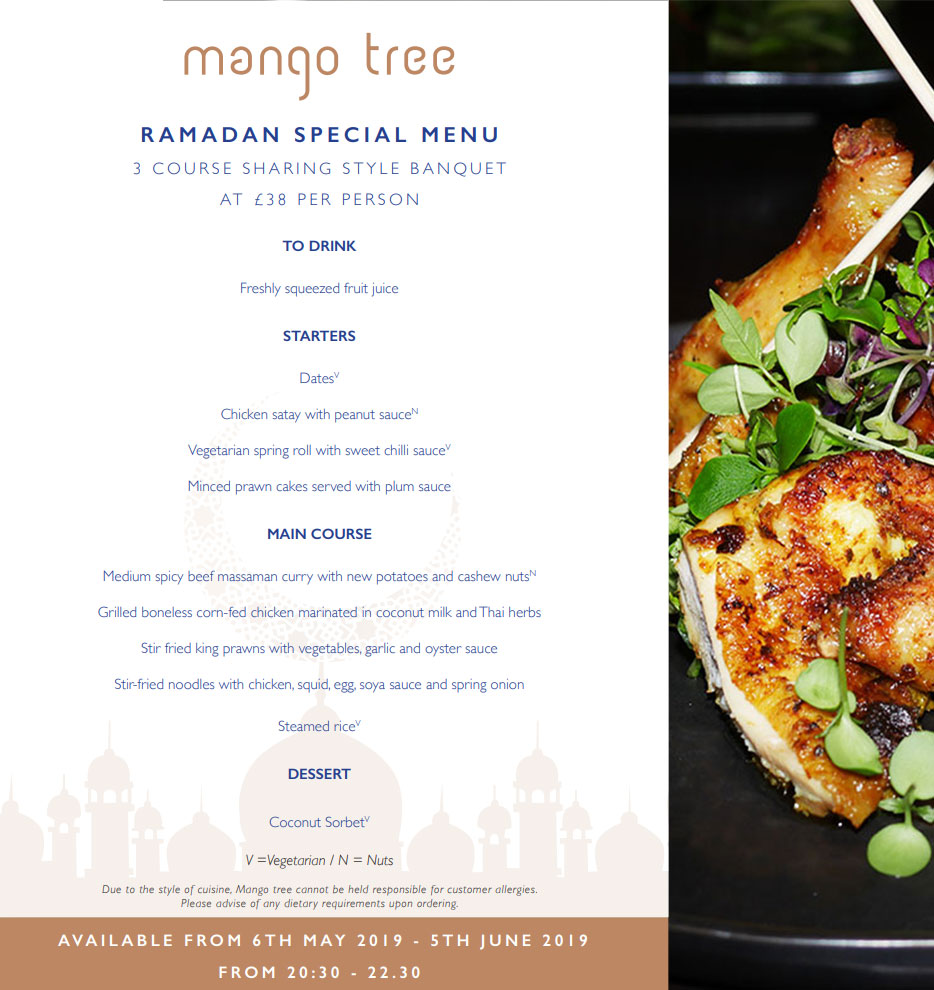 Mango Tree (Thai) - Belgravia, London