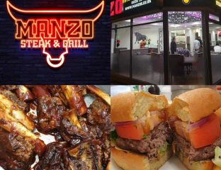 Manzo Steak & Grill Derby Halal Restaurant Burgers
