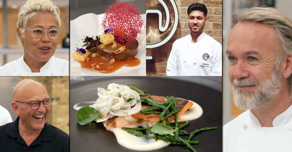Burhan Ahmed MasterChef Professionals BBC Chef