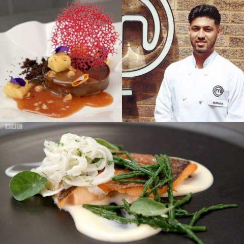 Burhan Ahmed MasterChef Professionals BBC Chef