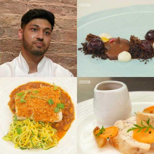 Masterchef The Professionals BBC Burhan Ahmed Muslim Chef