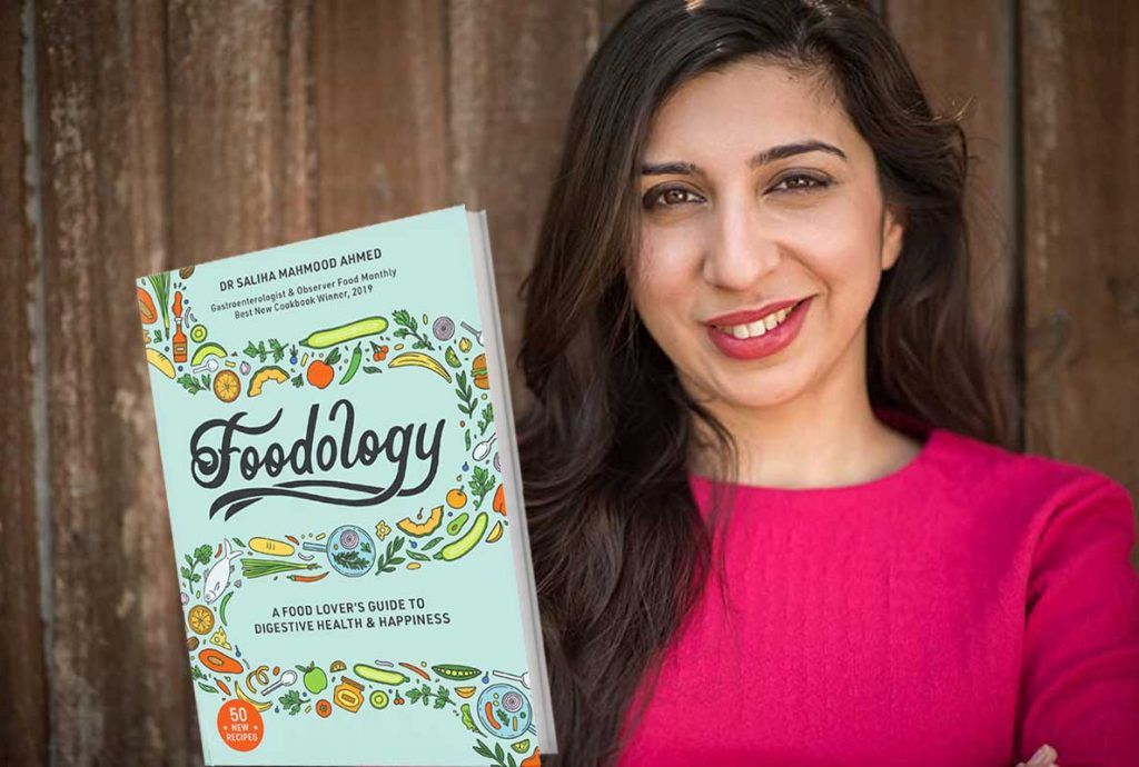 Masterchef Saliha Mahmood Ahmed Foodology cookbook