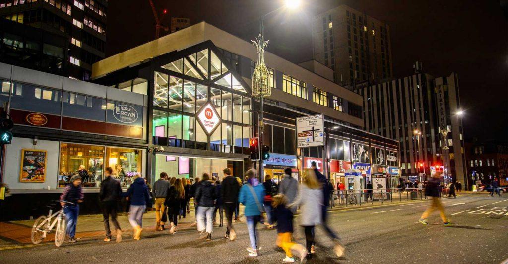 Merrion Centre Leeds Shopping Restaurants