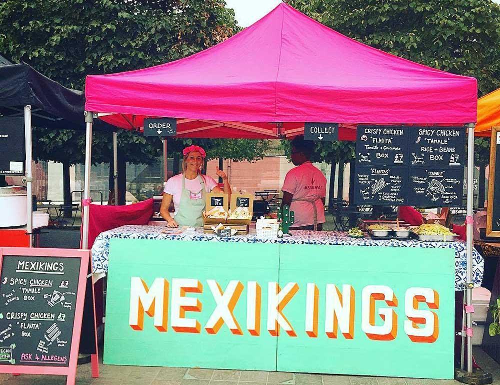 Mexikings Kerb West India Quay Street Food London