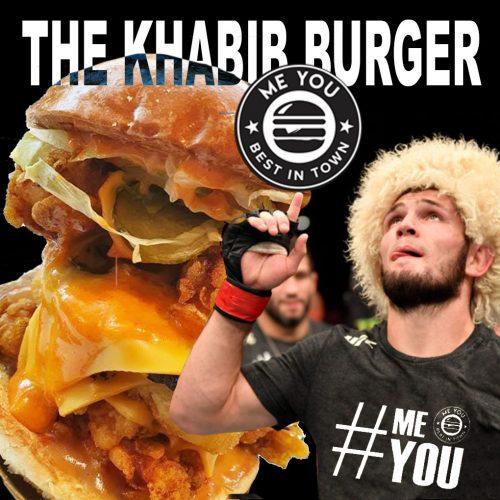 me you restaurant the Khabib burger Birmingham